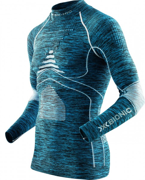 X-BIONIC® ACCUMULATOR® EVO Herren Unterhemd mit Stehkragen