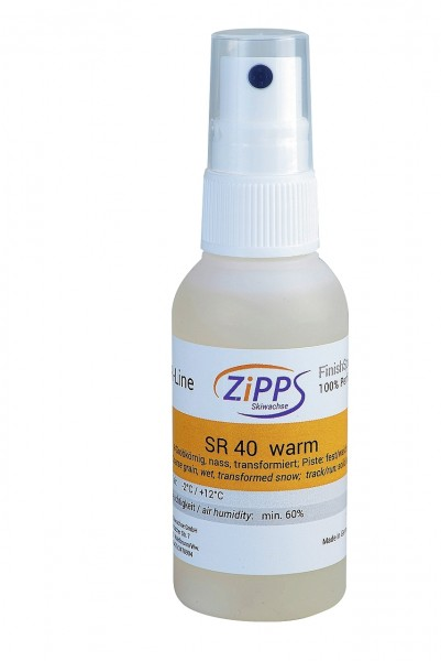 ZIPPS SR 40 WARM, Perfluor-Finishspray, 50 ml
