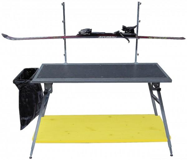 FN-TECH Table Coupe du monde de travail et de fartage robuste, WC, 75–95 cm, prix sensationnel