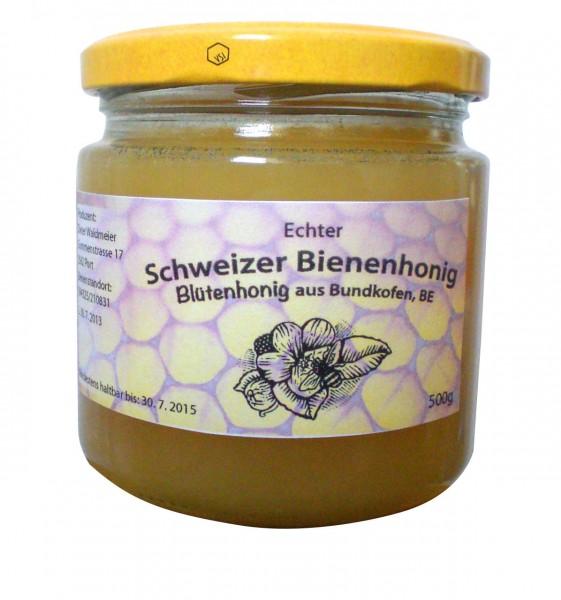 Véritable miel suisse de forêt