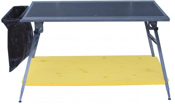 FN-TECH Table de travail et de fartage robuste, WC, 75–95 cm, Prix net