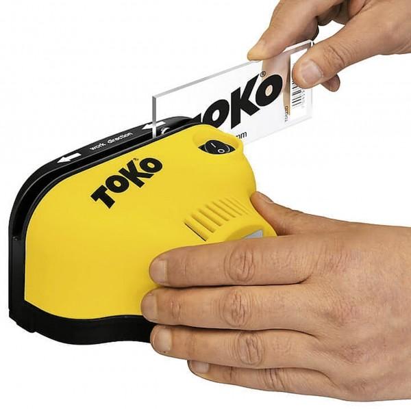 TOKO Affûteur électronique de lames en plexiglas coupe du monde pro